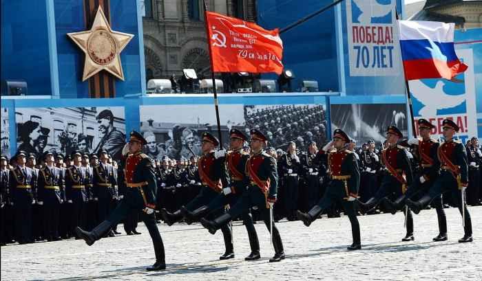 Парад российской армии