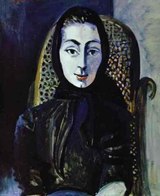 Портрет Жаклин Рок, 1954