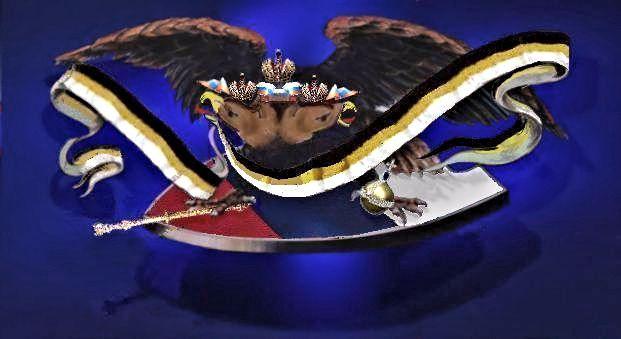 Русский Имперский Орёл 3D