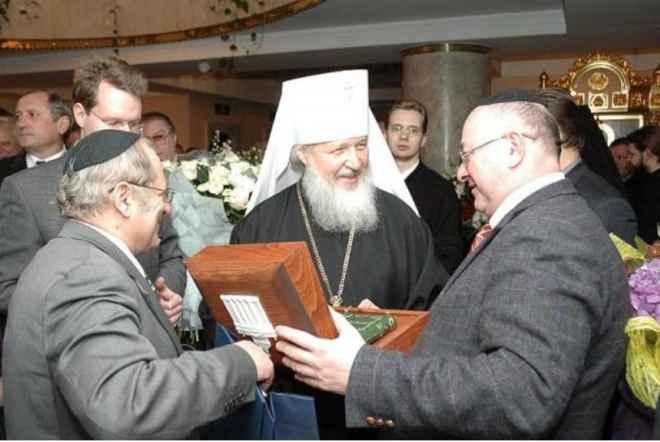 В московской синагоге