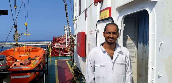 3rd Officer Nazim Hussain Khalpe