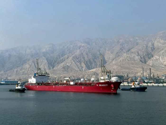 Порт в Персидском заливе