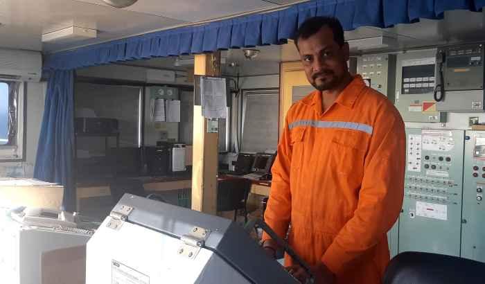 Рулевой матрос Prashant Kumar