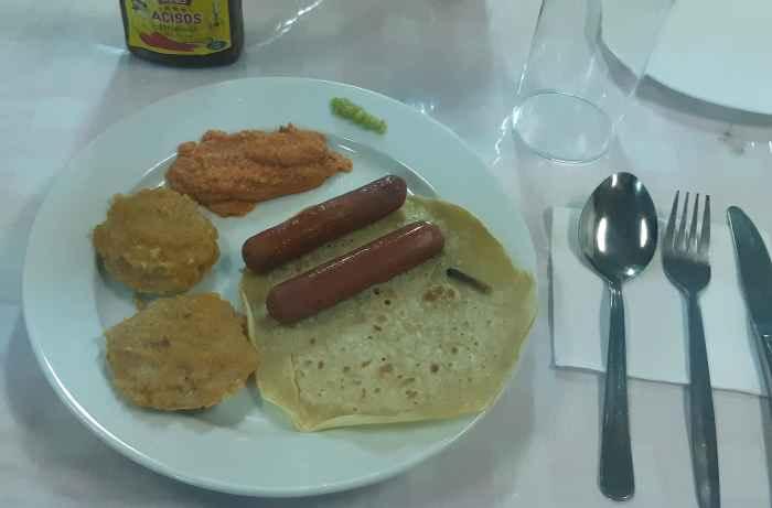 Индийский вариант завтрака