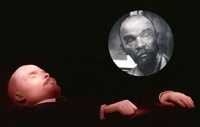 Мумия в Мавзолее. Если кто не в курсе, это вовсе не Ленин
