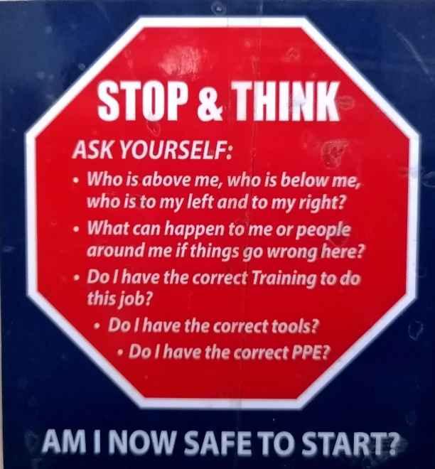 Dubai Safety Poster