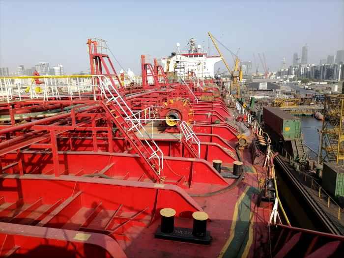 PK MARIT in dock