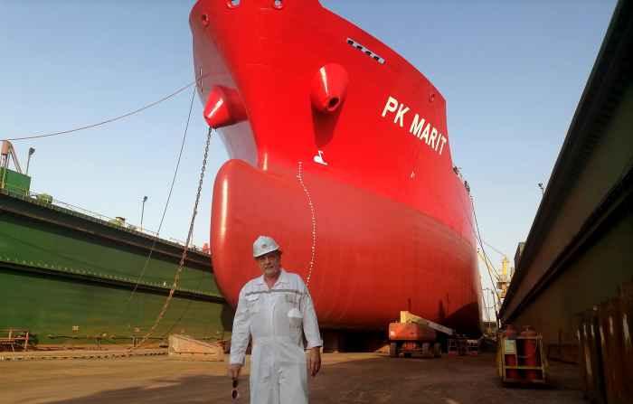 Капитан Никольский и танкер PK MARIT