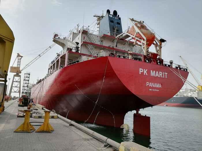 PK MARIT from stern