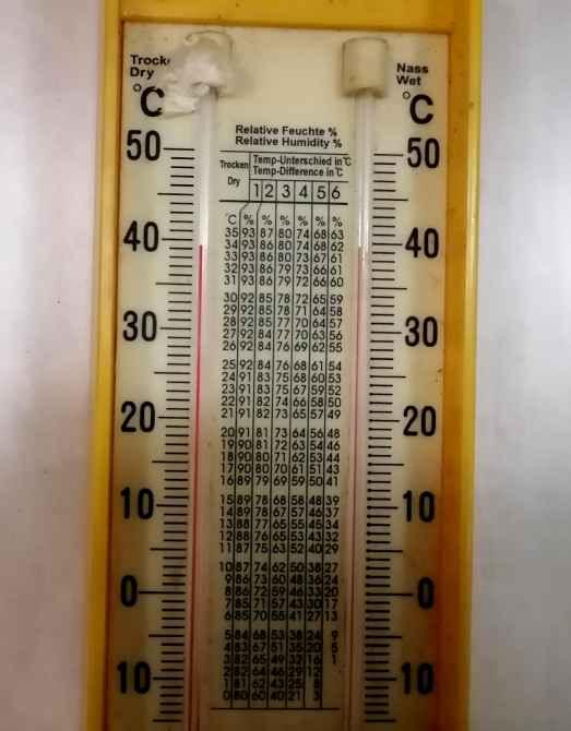 Температурный градусник