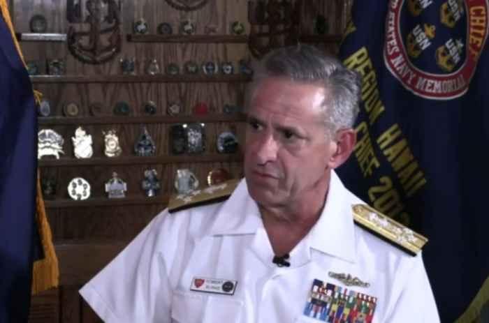 адмирал Роберт Берк