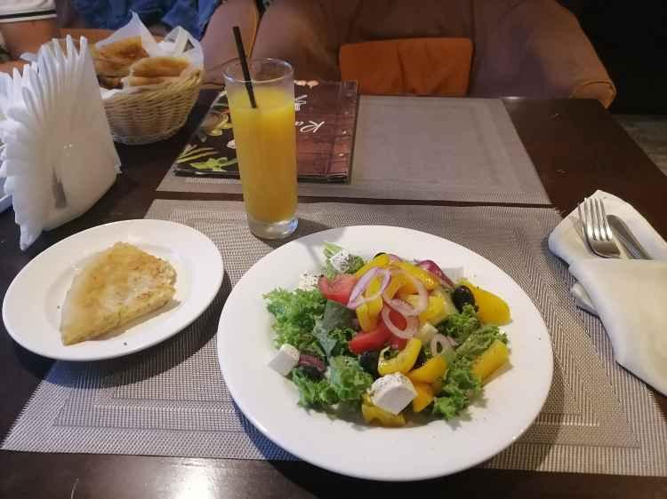 Подобие греческого салата