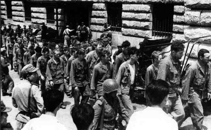 Корейская война 1951-53. Пленные американцы