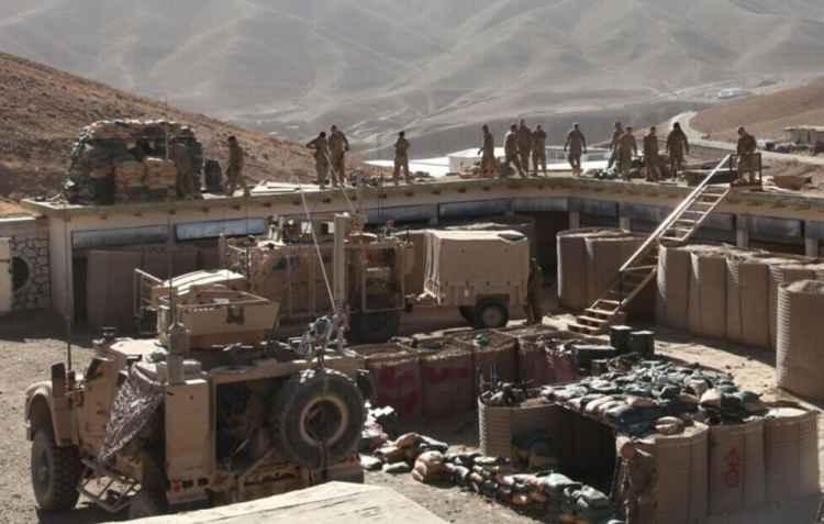 Брошенная база армии США в Кабуле