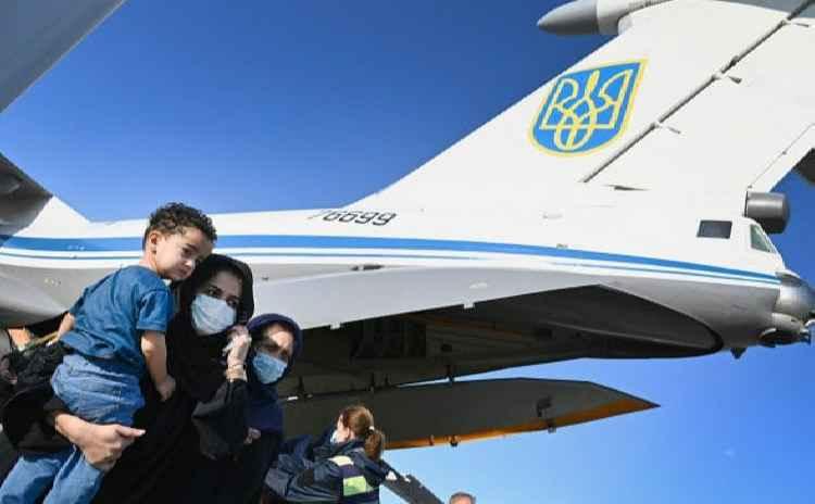 Украинский самолёт в Кабуле