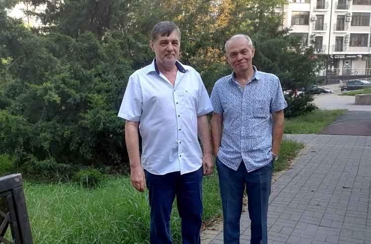 Капитан Никольский и Сергей Петрович