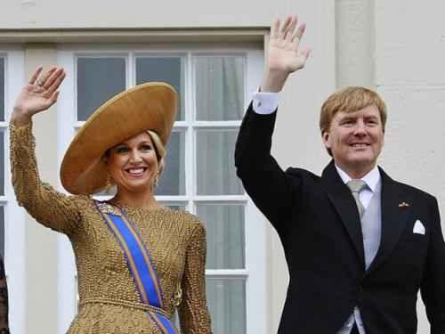 Нидерланды. Король Виллем-Александр и королева Максима