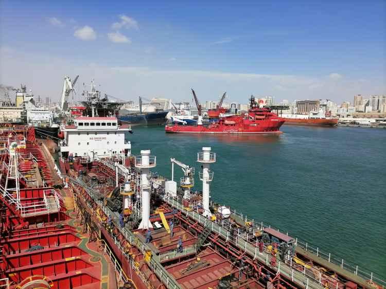 Chem tanker PK MARIT alongside in Port Khalid