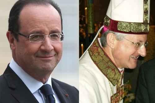 Андорра. Сокнязья Франсуа Олланд и архиепископ Жоан Энрик Вивес-и-Сисилиа
