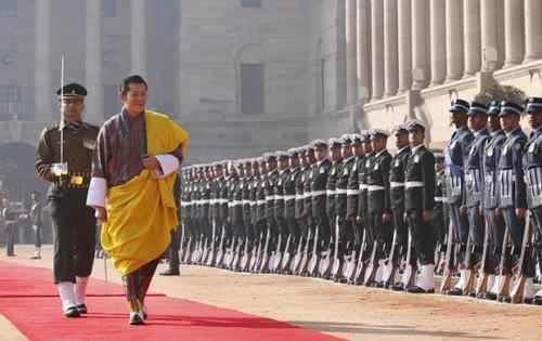 Бутан. Король Джигме Кхесар Намгьял Вангчук