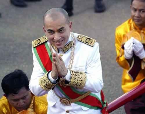 Камбоджа. Король Нородом Сиамони