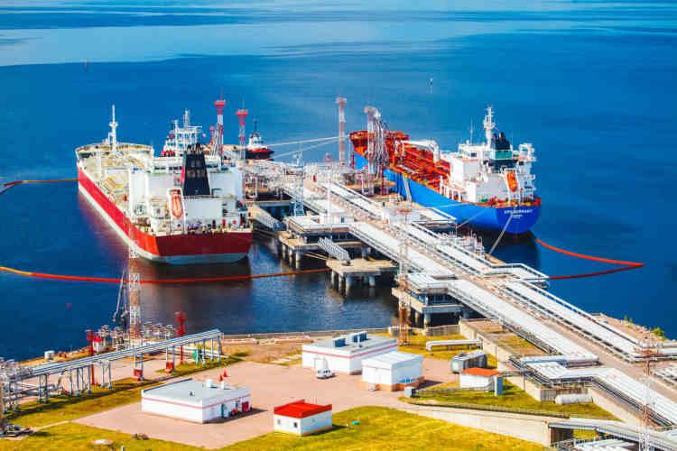 Порт Высоцк, терминал Лукойла