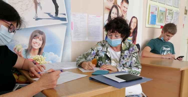 В поликлинике