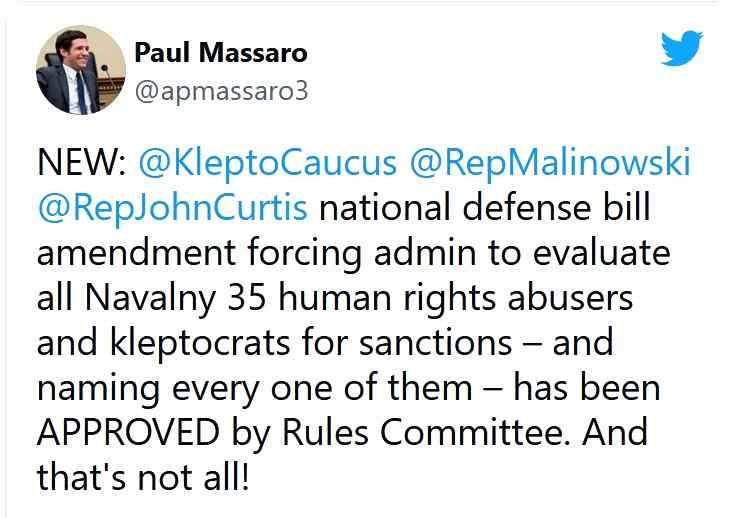 Твиттер о санкциях