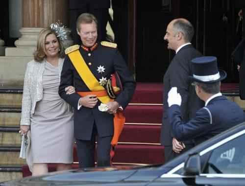 Люксембург. Великий герцог Анри и великая герцогиня Мария Тереза
