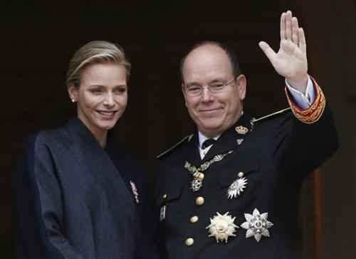 Монако. Князь Альбер II и принцесса Шарлин