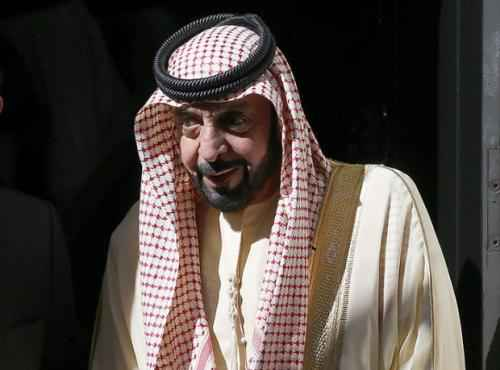 ОАЭ. Президент шейх Халифа ибн Зайд Аль Нахайян