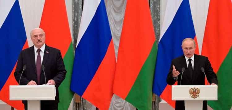 Владимир Путин и Александр Лукашенко 9 сентября 2021 года