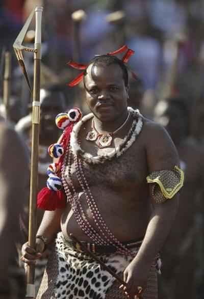 Свазиленд. Король Мсвати III