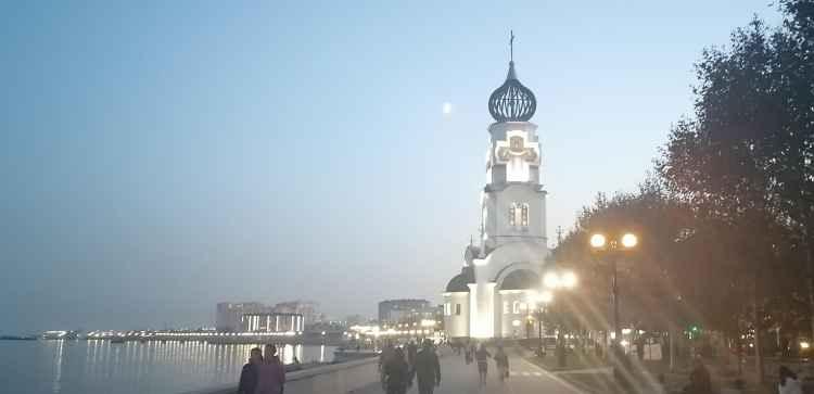 Новороссийск. Храм на Набережной
