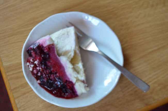 Тортик с вилкой