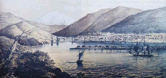 Петропавловск-на-Камчатке середина XIX века
