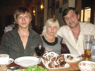 капитан Никольский с родственниками