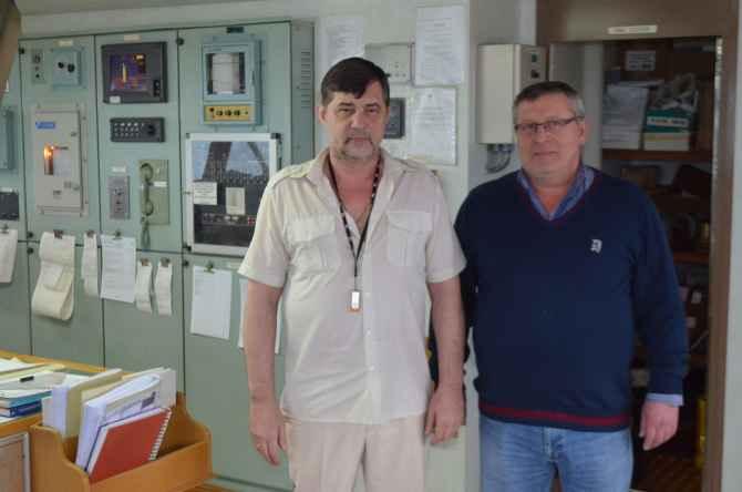 капитан Никольский и ГеоргийЦинцадзе
