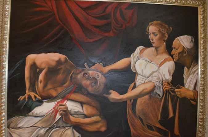 Картина - Добрая сицилийская девушка
