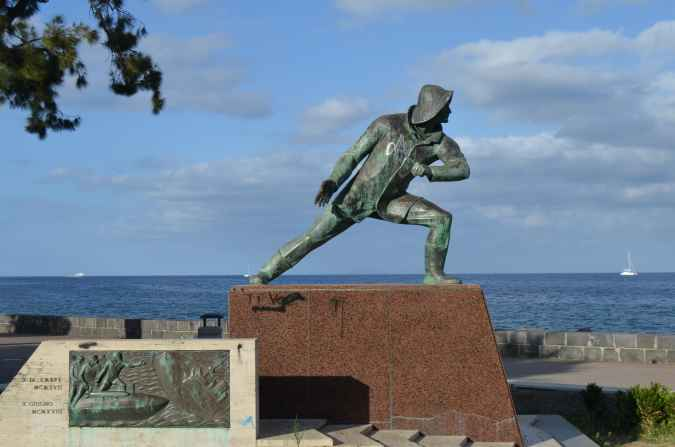 Памятник торпедистам