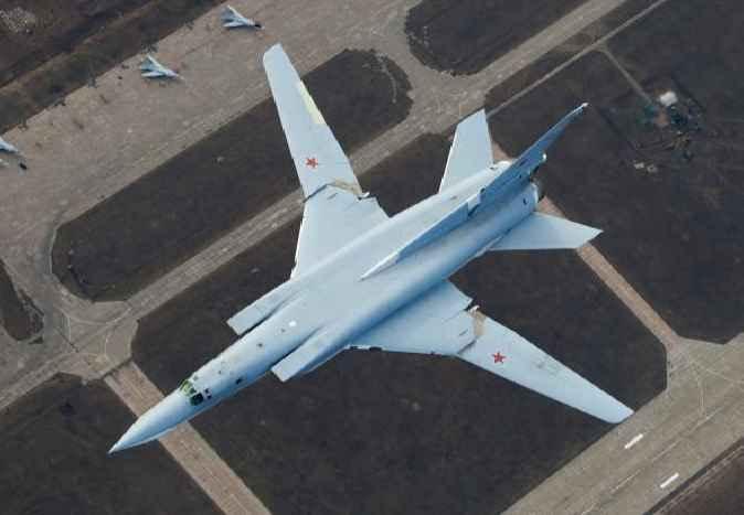 Ту-22М3 с изменяемой геометрией крыла