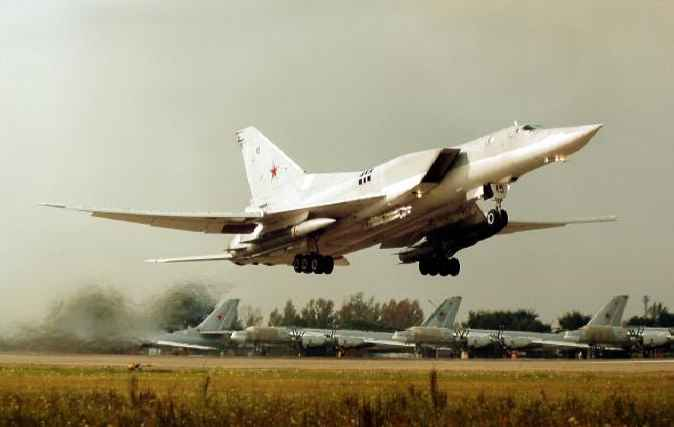 Стратегический ракетоносец Ту-22М3