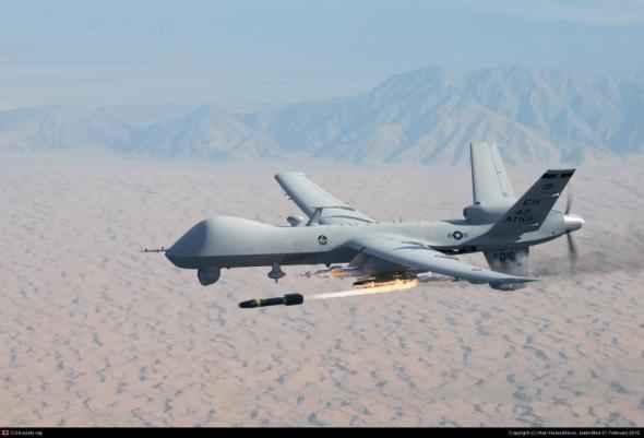 Атака американских беспилотников