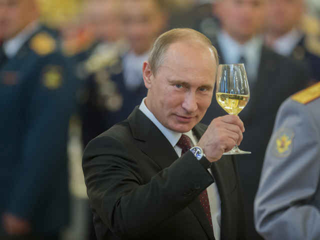 Путин ДР