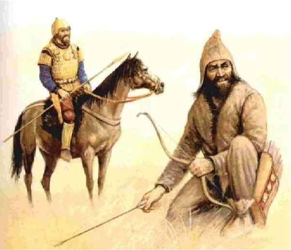 Древние казахи