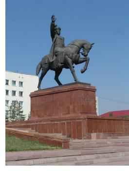 Памятник Абулхайыр хану в городе Актобе