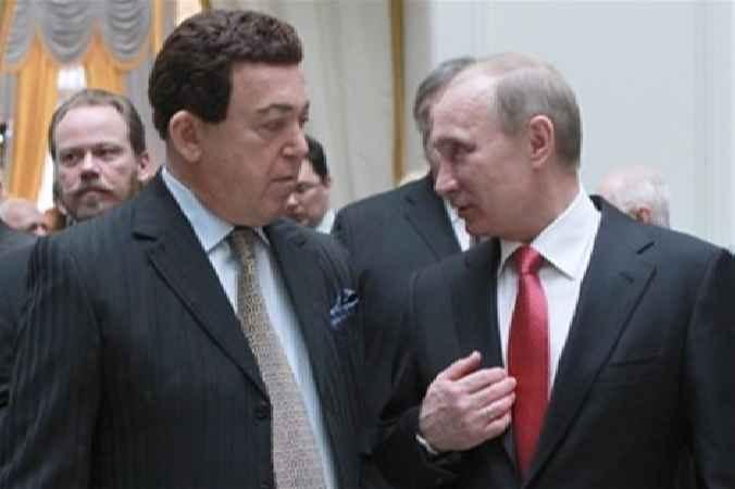 Кобзон и Путин