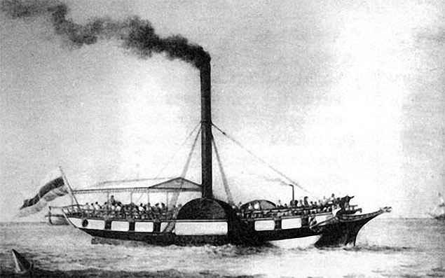 Первый русский пароход