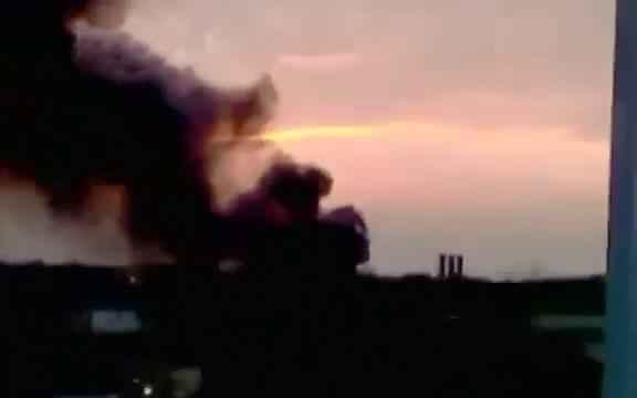 Пожар в Днепропетровске