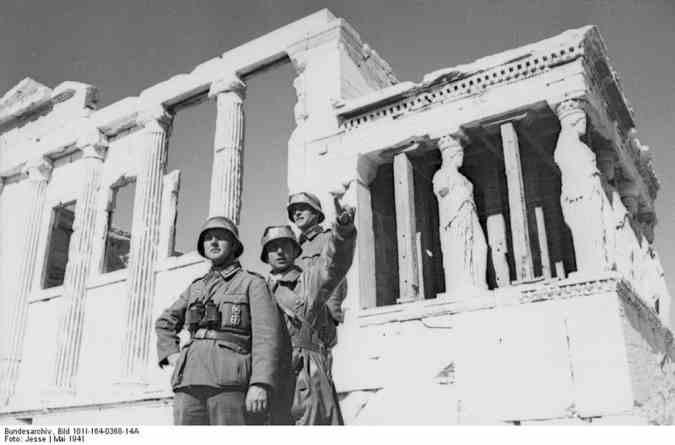 Фашисты в Греции